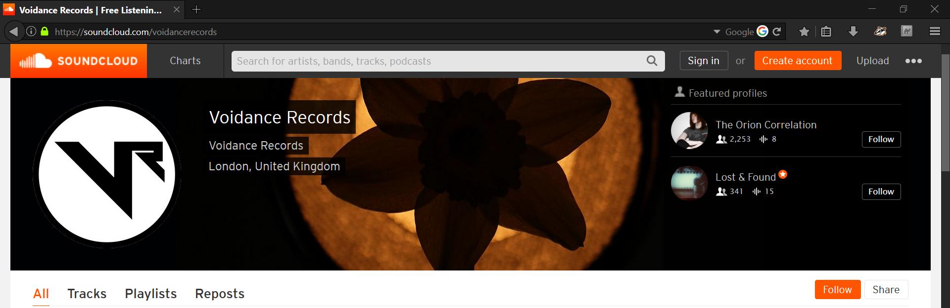 SoundCloud Featured Profiles