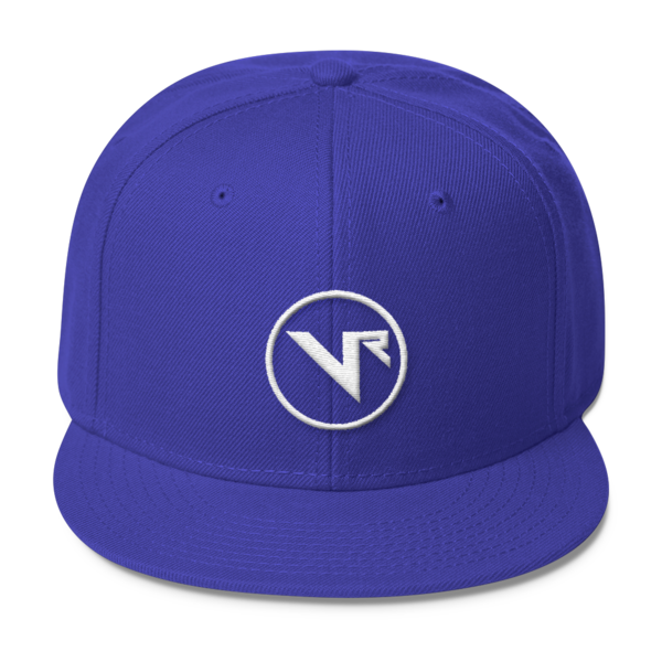 Voidance Records Snapback with White Embroidery